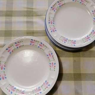 Ceramic Dinner Plates for 12