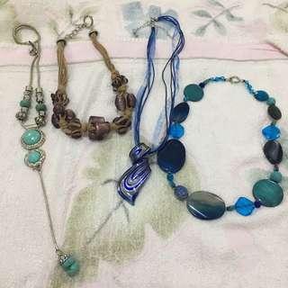Vintage Boho Necklace Kalung