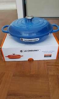 Brand new Le Creuset Buffet shallow  Casserole dish 30 cm