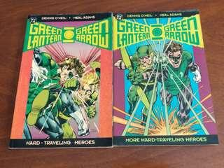 Green Lantern / Green Arrow : Hard Traveling Heroes TPB