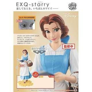 迪士尼 FIGURE 貝兒 Disney Characters EXQ - starry - Belle -
