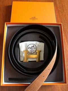 Hermes H Reversible Belt 32mm