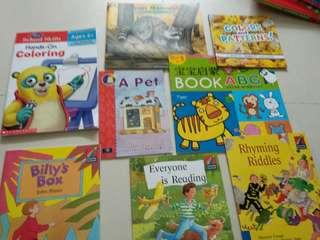🚚 Baby and toddlers' first library 21books in total