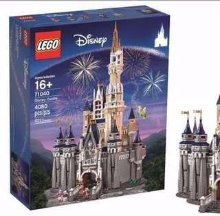 Lego 71040 Disney Castle mini figures movie 2 avengers