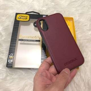 OTTERBOX Symmetry Apple Iphone X XS case Red Maroon