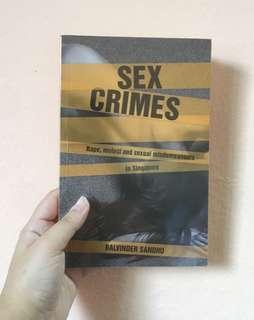 Sex Crimes  #MMAR18