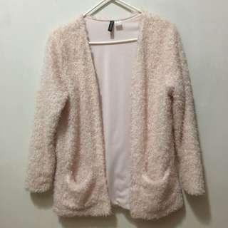 H&M Fur Jacket / Coat / cardigan