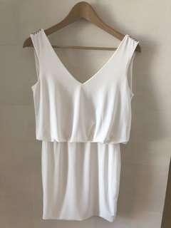 Slide show Australia brand white party dress