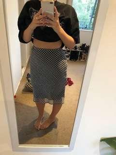 Glassons midi skirt
