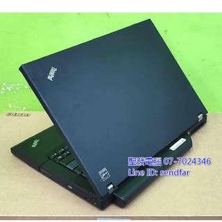 🚚 全新電池 超值文書機 LENOVO T61 T7500 3G 160G DVD 14吋筆電 聖發二手筆電