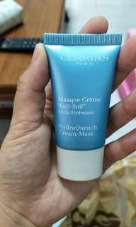 🚚 Clarins Hydraquench cream mask