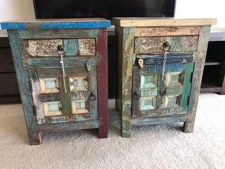 ISHKA Bedside Tables (Pair)