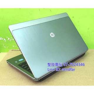 🚚 鋁鎂合金超值商務 HP 4430S i3-2330M 4G 750G DVD 14吋筆電 聖發二手筆電