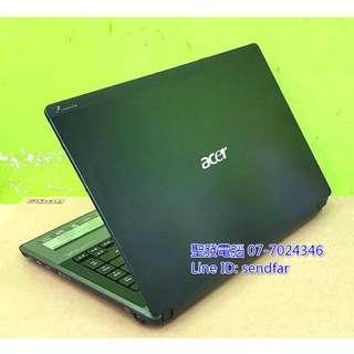 🚚 高效獨顯遊戲 ACER AS4820TG i5-520M 4G 750G 獨顯 DVD 14吋筆電 聖發二手筆電