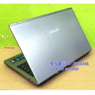 🚚 全新電池 高效能獨顯 ASUS U47V i5-3210M 4G 240SSD 獨顯 DVD 14吋筆電 聖發二手筆電