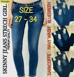 Celana Jeans Wanita FREE ONGKIR JABODETABEK AREA