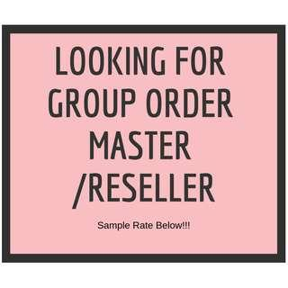 Kpop Supplier (For Group Order / Resell)