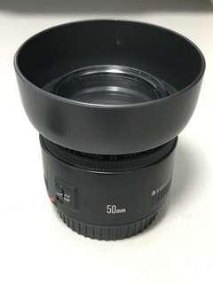 Canon EF 50mm  f1.8 II EOS