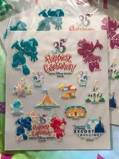 🚚 Disney Resort Tokyo Disneyland Stickers