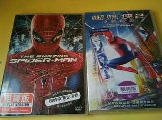 二手D V D 蜘蛛俠 1 2