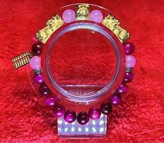 999 Silver Gold plated Pixiu Bracelet (custom made)