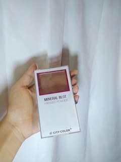 City Color Mineral Blot Powder