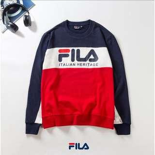 Unisex Fila Heritage Casual Sweater (Preorder)