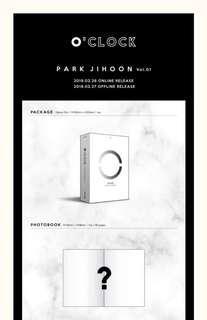 Park Ji Hoon - O'CLOCK