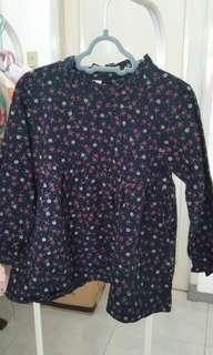 dreas bunga new baru sisa stock size XL 4t