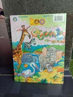 Puzzle Zoo - 12 pcs