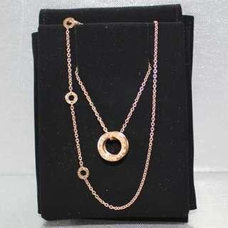 Bvlgari B-Zero Necklace Rose Gold