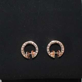 Bvlgari B-Zero Earrings Rose Gold