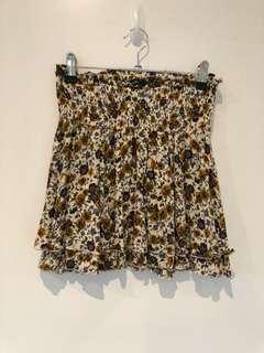 Glassons floral skirt