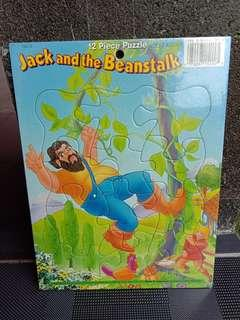 Puzzle 12 pcs - Jack and the beanstalk