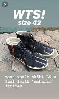 Vans vault sk8hi LX x Paul Smith 'maharam' stripes