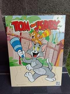 Puzzle 12 pcs - Tom and Jerry
