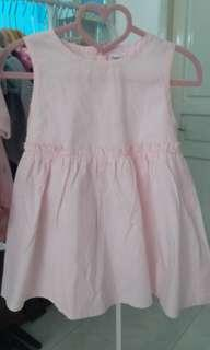 dress pink new baru sisa stock size 110/approx 4t