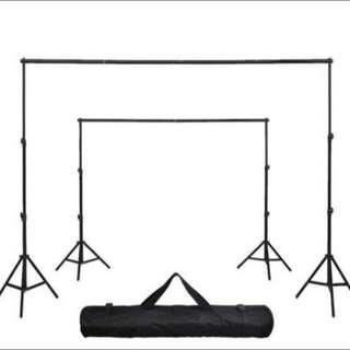 🚚 BN Event Pop Up Photo Studio Backdrop Stand - Portable