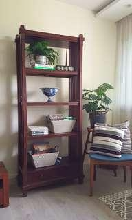 Teak Open Shelf / Bookshelf / Kitchen storage