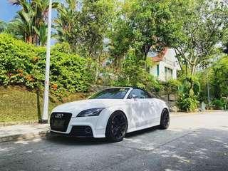 Audi TTS Roadster for rent