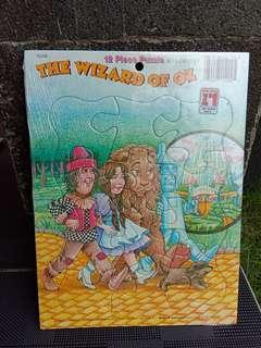 Puzzle 12 pcs - The Wizard of Oz