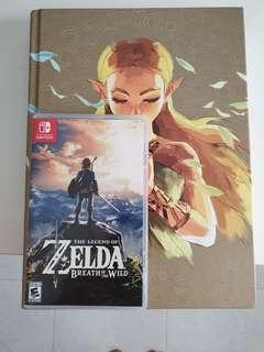 Nintendo switch Zelda plus compete guide book