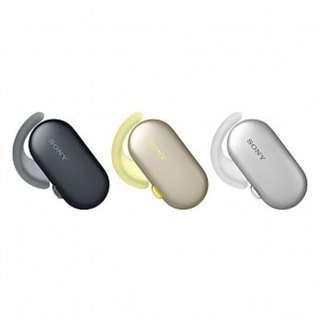 日本進口 SONY WF-SP900 運動無線耳機  具備 IP6X 防塵設計,能抵擋各種嚴苛環境  ( 黑色 /白色 )