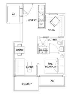 Freehold Ness for sales 1+1 bedroom