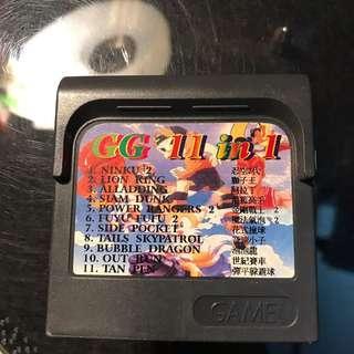 Sega Game Gear Cartridge Retro Video Game