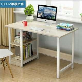 COMPUTER / STUDY TABLE WITH SIDE RACK (MEJA STUDY)