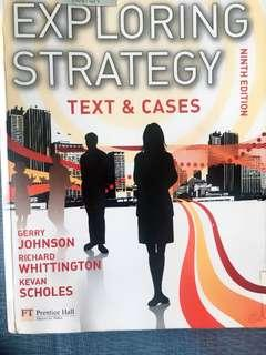 Exploring Strategy Textbook