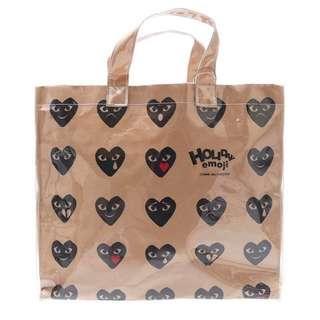 Cdg Play Tote Bag (Preorder)