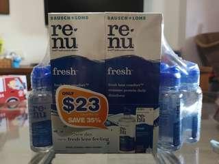 🚚 Renu Fresh Multi-purpose Contact Lens Solution