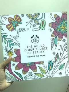 🆕The Body Shop Colouring Book🆕